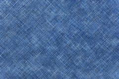 Ligne de Blude de décoration de tissu de jeans comme fond Images libres de droits