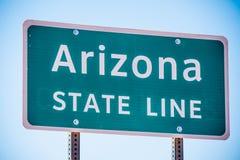 Ligne de chambre de l'Arizona à la vallée de monument photographie stock libre de droits