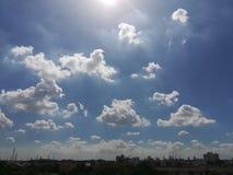 Ligne de ciel Photos stock