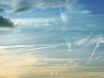 Ligne de ciel Photo stock