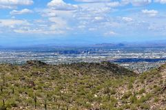 Ligne de ciel de Phoenix Arizona Photos stock