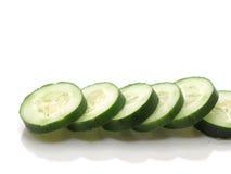 Ligne de concombre Photos libres de droits