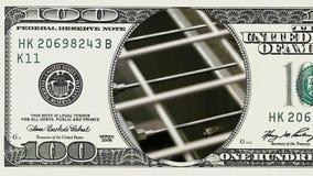 Ligne de convoyeur d'usine dans le cadre du billet d'un dollar 100 banque de vidéos