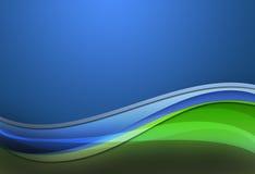 Ligne de couleur de courbes illustration de vecteur