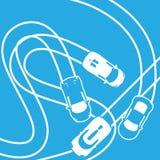 ligne de course, illustration ENV 10 Image libre de droits
