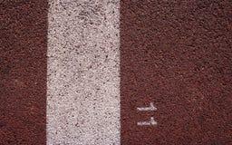Ligne de départ au sportsground photo libre de droits