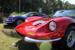 Ligne de Ferrari Dino Images libres de droits