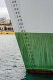 Ligne de flottaison photographie stock