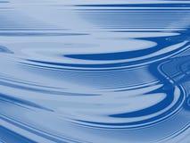 Ligne de flottaison bleue abstraite Images stock