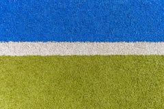 Ligne de gazon d'Astro de sport Images libres de droits