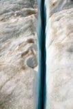 Ligne de glacier Photographie stock libre de droits