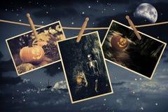 Ligne de Halloween Photographie stock libre de droits