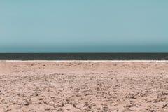 Ligne de Horizont par le méditerranéen photographie stock