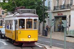 Ligne 28 de Lisbonne Photos stock
