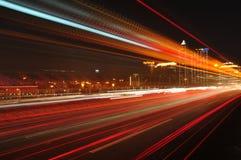 Ligne de lumière Image stock