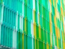 ligne de niveau de l'intérieur sept en plastique acryliques de feuille et pomme de couleur Photographie stock libre de droits