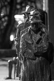 Ligne de pain au mémorial de FDR Photos libres de droits