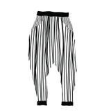Ligne de pantalons Photographie stock libre de droits
