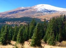 Ligne de partage des eaux de montagnes du Colorado Photographie stock libre de droits