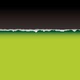 Ligne de partage verte de larme Photo stock