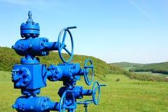 Ligne de pipe de gaz image stock