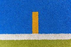 Ligne de plan rapproché de gazon d'Astro de sport Photos libres de droits