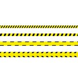 Ligne de police ensemble illustration de vecteur