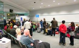 Ligne de porte d'aéroport Image libre de droits