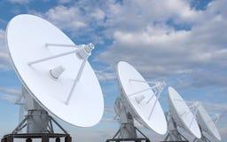 ligne de radars Photos libres de droits
