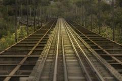 Ligne de rail de transit Photos libres de droits