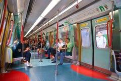 Ligne de rail est Image libre de droits