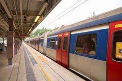 Ligne de rail est Photographie stock