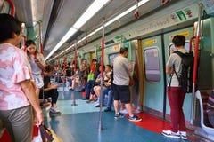 Ligne de rail est Photos libres de droits