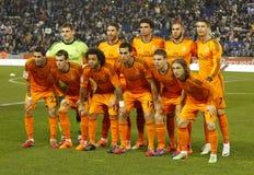 Ligne de Real Madrid Photo stock