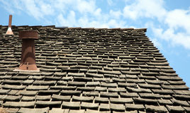 Ligne de toit Photographie stock