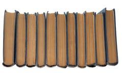 Ligne de vieux livres Image libre de droits