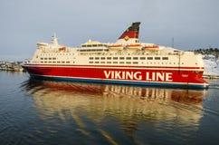 Ligne de Viking - milliseconde Isabella Image libre de droits
