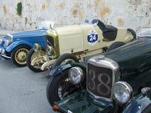 Ligne de voiture de vintage Photo stock