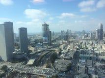 Ligne de vue de Tel Aviv Photographie stock