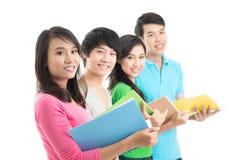 Ligne des étudiants Image libre de droits