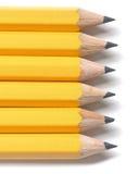 Ligne des crayons Images libres de droits