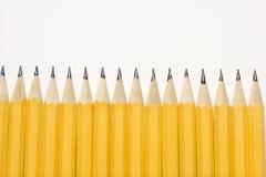Ligne des crayons. Images libres de droits