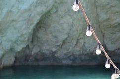 Ligne des lampes Image stock