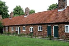 Ligne des maisons de patrimoine. Photo stock