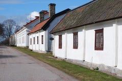 Ligne des maisons suédoises Photo libre de droits
