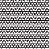 Ligne et ligne droite noires de chevron avec le cercle blanc à l'intérieur de la PA Images stock