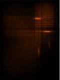 Ligne et onde abstraites de vecteur. orange Image stock