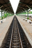 Ligne ferroviaire Photographie stock