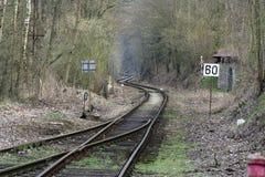 Ligne ferroviaire Image stock