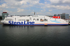 Ligne ferry de Stena Photographie stock